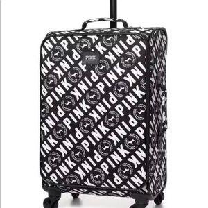 VS Pink suitcase / luggage wheelie